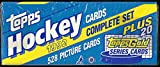 1992 / 1993 Topps Hockey Factory Sealed 528 Card Set with 20 Bonus Topps Gold Cards