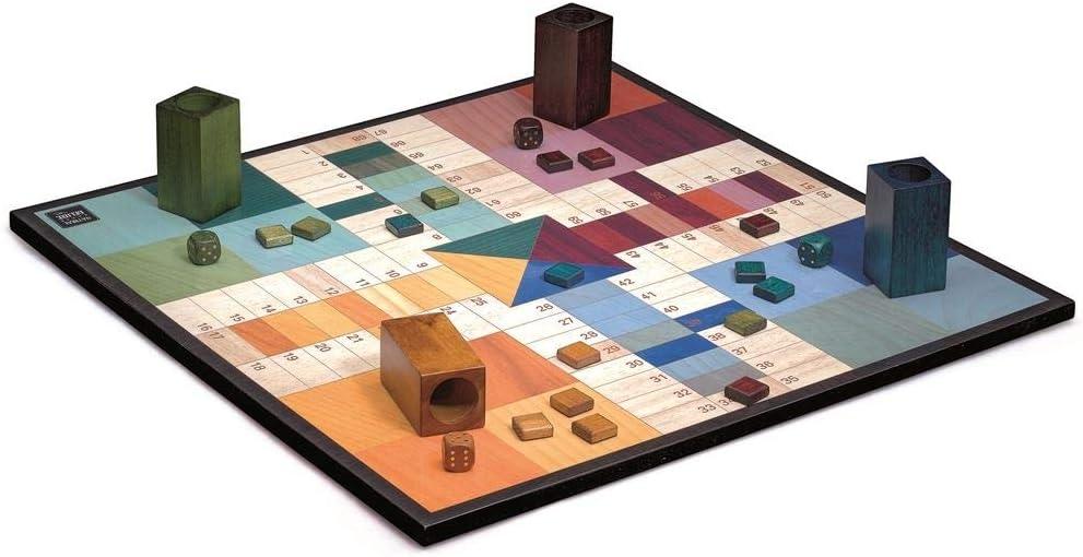 Cayro - Parchis Design - Parchis de Madera - Juego de Mesa - Desarrollo de Habilidades cognitivas - Juego de Mesa (2631): Amazon.es: Juguetes y juegos