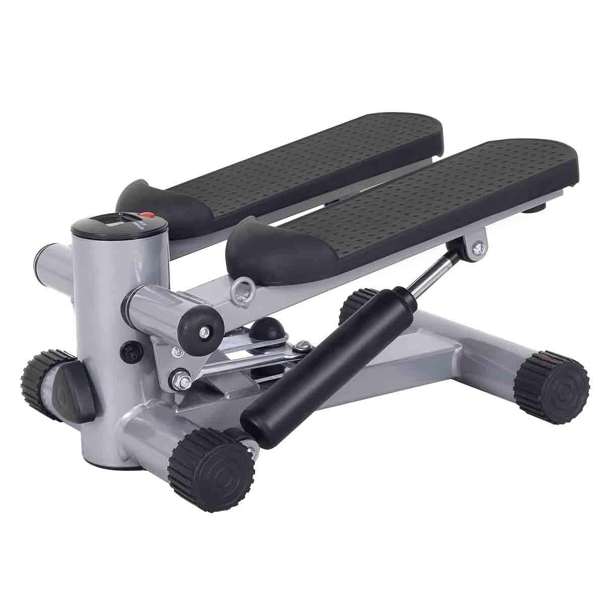 Goplus Mini Stepper Air Climber Step Fitness Exercise Machine with Resistance Band and LCD Display by Goplus (Image #6)