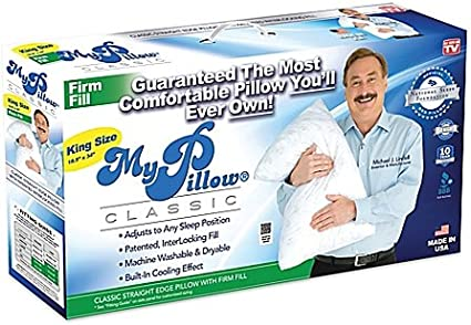 Amazon Com My Pillow King Firm Fill Health Personal Care