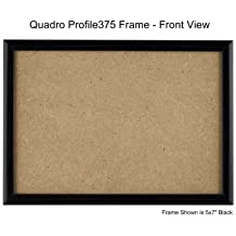 85x11 inch picture frame single frame black by quadro frames