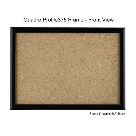 Amazon.com - Quadro Frames 6x9 inch Picture Frame, Black, Style P375 ...