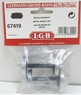 2 St/ück LGB 67320 Metall-Doppelspeichenradsatz
