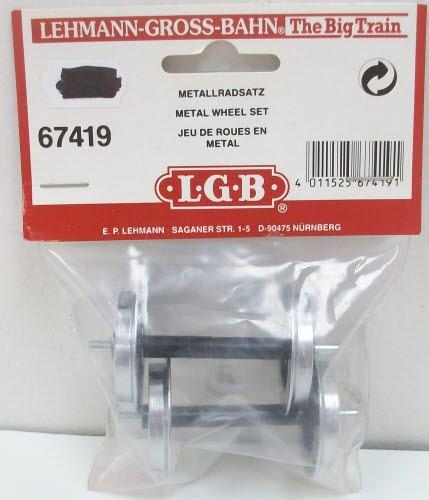 Märklin LGB 67419 - Metall-Scheibenradsatz, 2 Stück 2 Stück L67419 GM-LGB67419