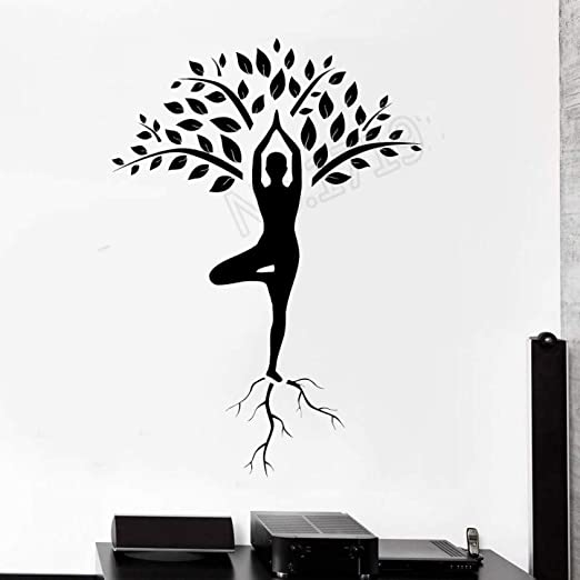 xingbuxin Mediación del árbol de Yoga Zen Om Home Interior ...