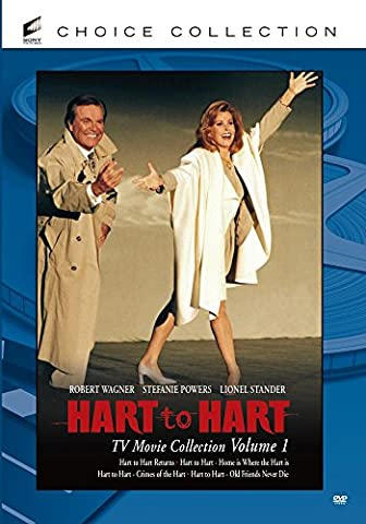 Hart To Hart TV Movie Collection - Volume 1 (4-Disc Set) (Hart To Hart Dvd Complete Series)