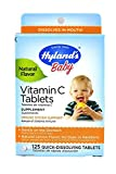 Hylands Vitamin C Tablets Lemon 125 Tablets (Pack of 2)