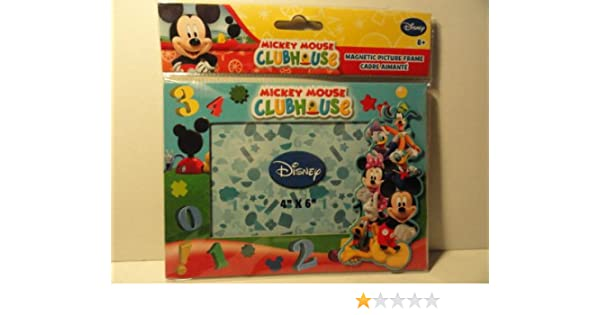 Amazoncom Disney Mickey Mouse Magnetic Picture Frame Home Kitchen