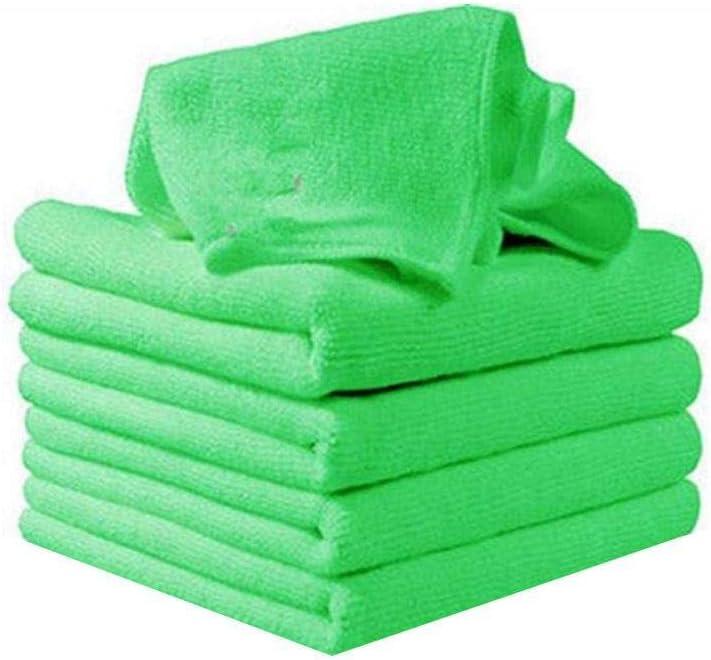 Jintes Asciugamano per la Pulizia Auto per Capelli Non in Assorbimento di Acqua Quadrato in Microfibra Finestre
