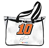 NASCAR #10 DANICA PATRICK CLEAR TOTE BAG-DANICA PATRICK CLEAR BAG NEWEST STYLE