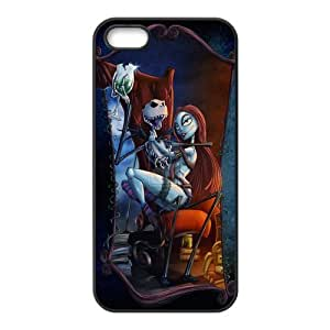Customiz Cartoon Movie Nightmare Before Christmas Back Case for iphone 5 5S JN5S-2528