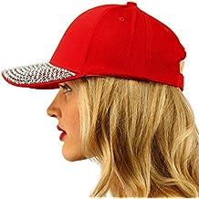 Everyday Plain Blank Bling Rhinestones Visor Baseball Sun Ball Cap Hat
