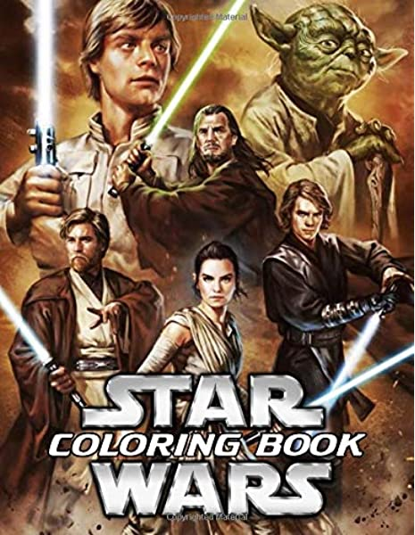 - Star Wars Coloring Book: All Characters In Star Wars With 50+ Illustrations  To Color Funny Coloring Books For Kids And Adults: Paulison, Osasuma:  9781699723029: Amazon.com: Books