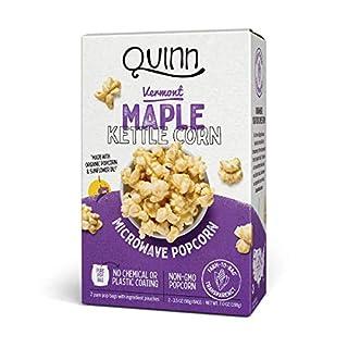 Quinn Snacks Aged Parmesan & Rosemary Microwave Popcorn