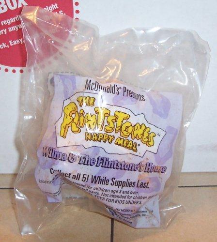 1994 Mcdonalds the Flintstones Wilma & Flintstone's House Happy Meal Toy MIP (Flintstones Mcdonalds Toys)