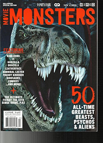 MOVIE MONSTERS MAGAZINE, HALLOWEEN SPECIAL EDITION, 2017 -