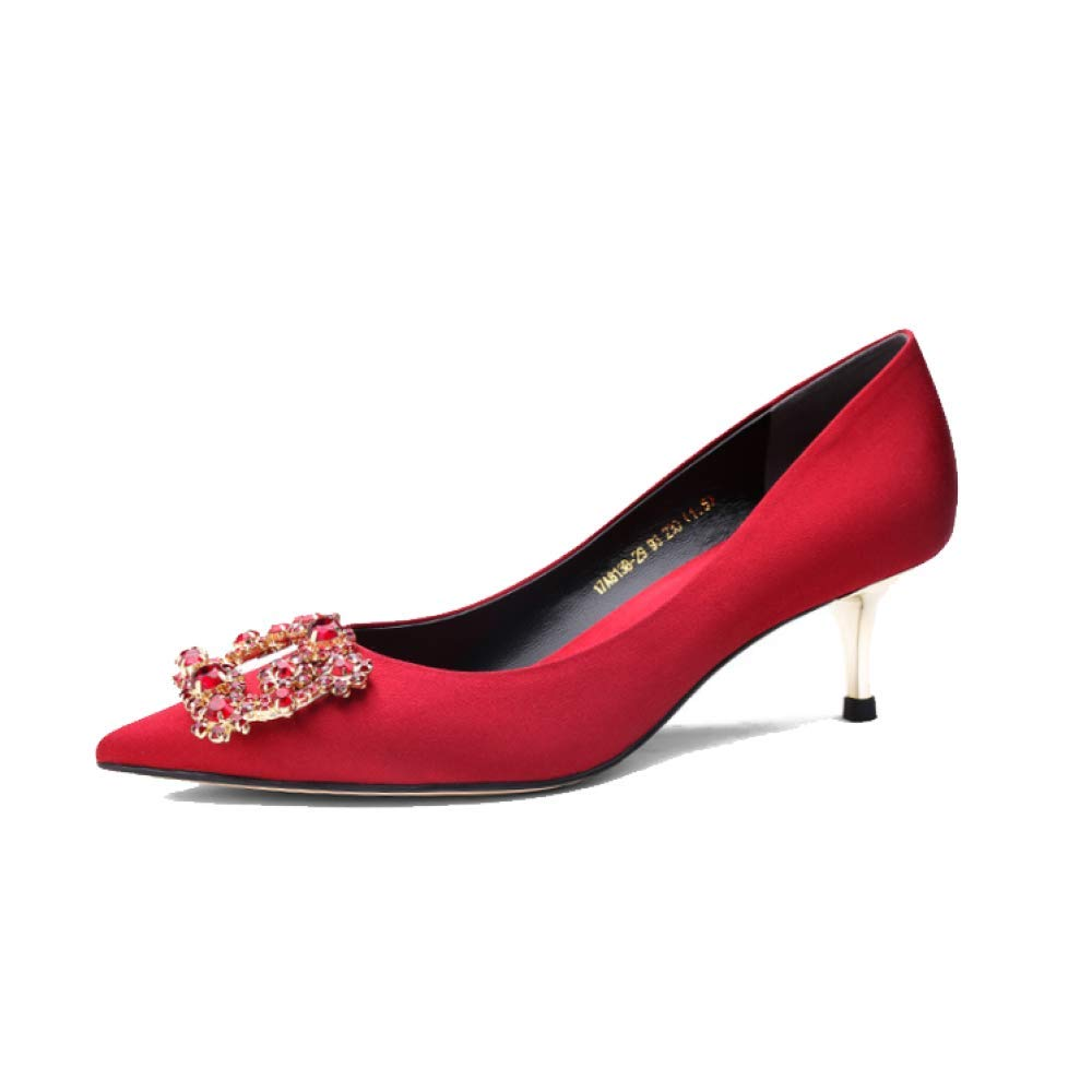 ZPEDY Chaussures pour Femmes, Hauts Chaussures Hauts Talons, Pointues, Confortables, Femmes, Respirantes, Mode Winered 2048204 - fast-weightloss-diet.space