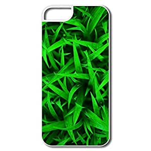 IPhone 5/5S Cases, Green Grass White Case For IPhone 5S