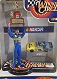 NASCAR Dale Earnhardt Sr Mini Figure #3 1987 Championship Wrangler Monte Carlo 1/64 Scale Diecast Winners Circle Cup Series Mini Replica Trophy