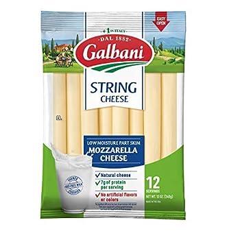 Galbani Part Skim Mozzarella String Cheese