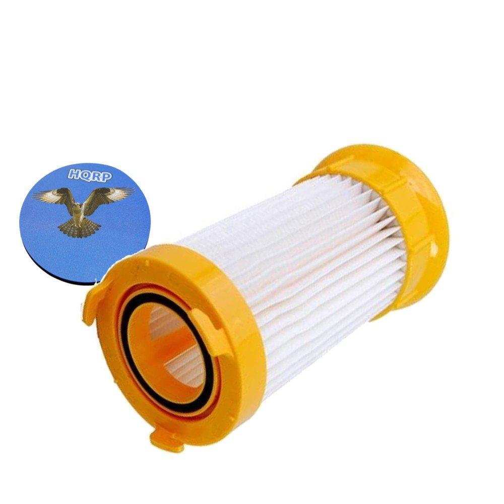 HQRP Washable & Reusable Filter for Eureka LightForce 4718AVZ / 4717AVZ, Boss Power Plus 4703D 4703BLU, Powerline 4773AZ, Pet Pal 4716AVZ Uprights Vacuums plus HQRP Coaster
