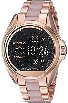 Michael Kors Access Touch Screen Rose Gold Acetate Bradshaw Smartwatch MKT5013