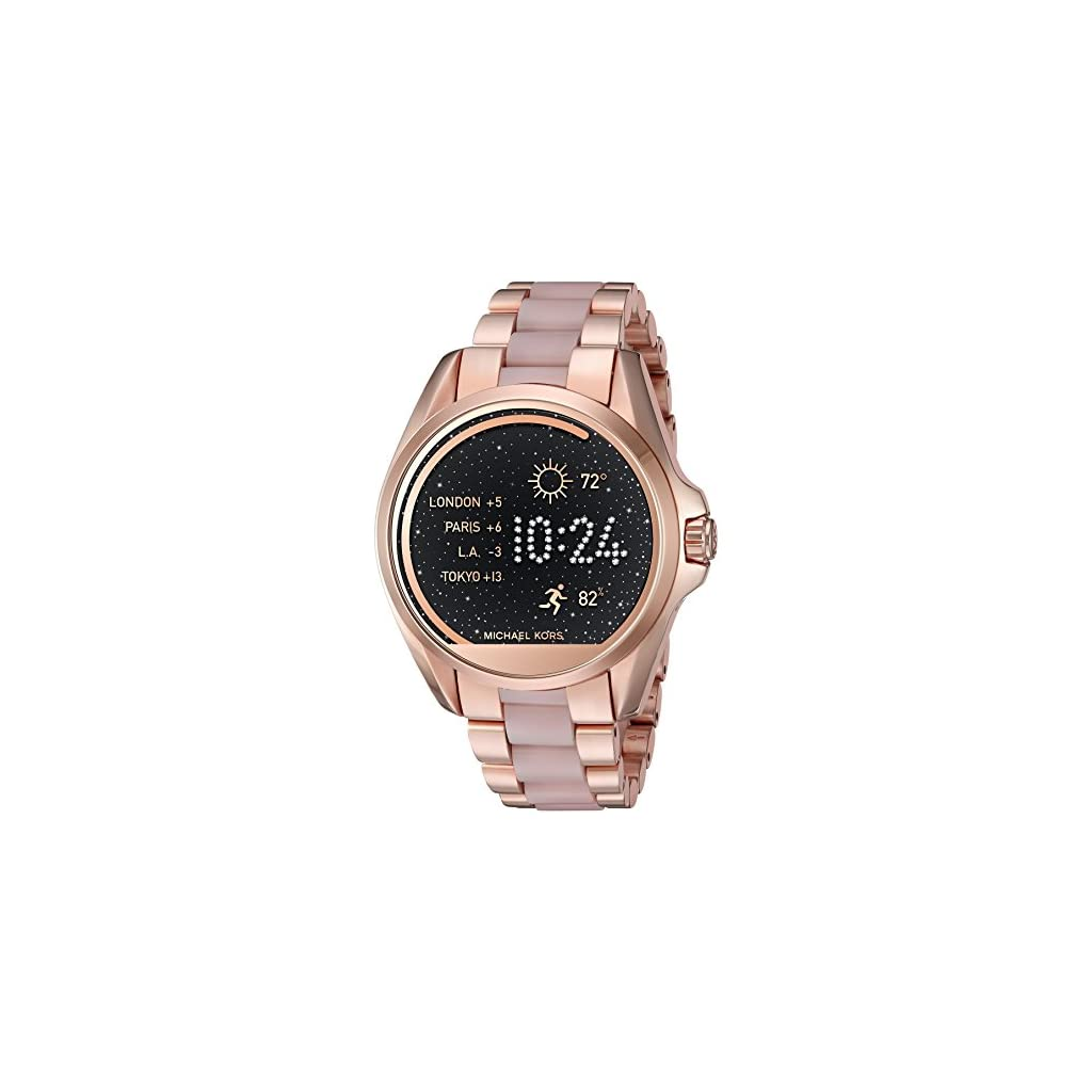 34630a568 Michael Kors Access, Women's Smartwatch, Bradshaw Rose Gold-Tone and Blush  Stainless Steel, MKT5013 | Creative Products
