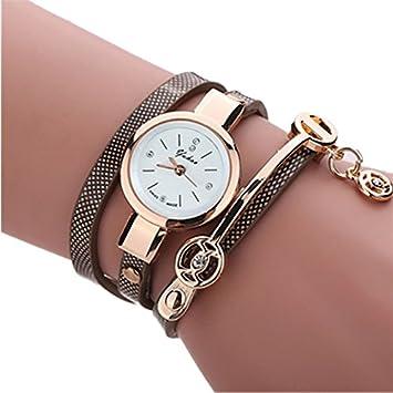 Las mujeres relojes, hmlai Fashion para mujer Metal correa cuarzo reloj de pulsera, moda