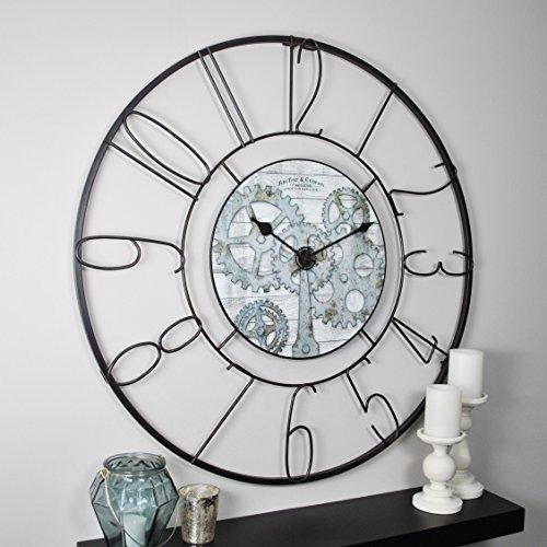 FirsTime & Co. 31034 Fulshaw Gears Wall Clock, 36