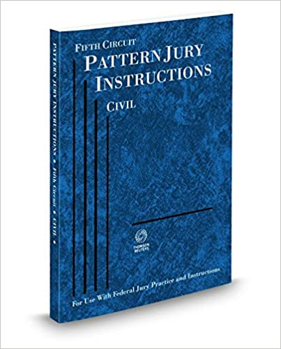 Amazon Fifth Circuit Pattern Jury Instructions Civil 2014 Ed
