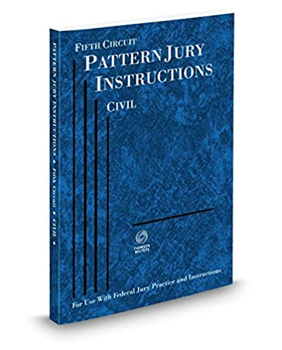 5th Circuit Pattern Jury Instructions Civil Trusted Schematic