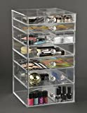 Sale! GlamoureBox Makeup Organizer Case With 7 Drawers Storage Cube (A7R-K)