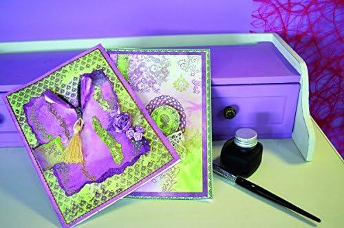 diff/érents motifs estampage fabrication de cartes Viva Decor Timbre pour lartisanat en papier  Roses de No/ël et paysage  --- Artisanat scrapbooking