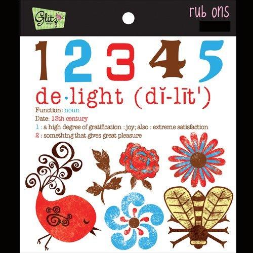 Glitz Design Rub - Kismet Rub-Ons
