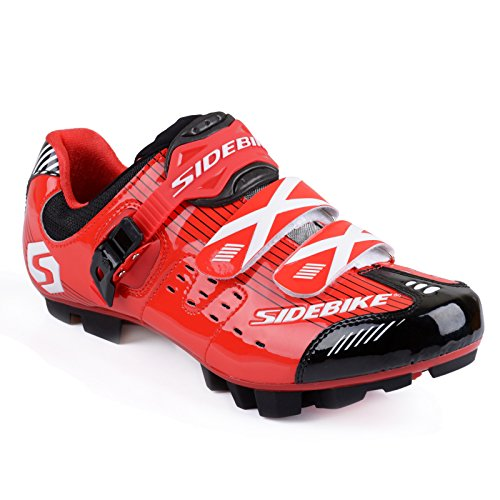 VTT pour Vélo GUTANG Noir Adulte Chaussures pour DC de Rouge qXa1gZ