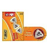BIC 929676 Goma Triangular, Cajilla de 24 piezas