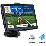 Prymax 7 Inch GPS Navigation for Car, Car GPS Navigation System with Touch Screen/ 8GB Memory/Lifetime Map Update/Driving Alarm/Voice Steering