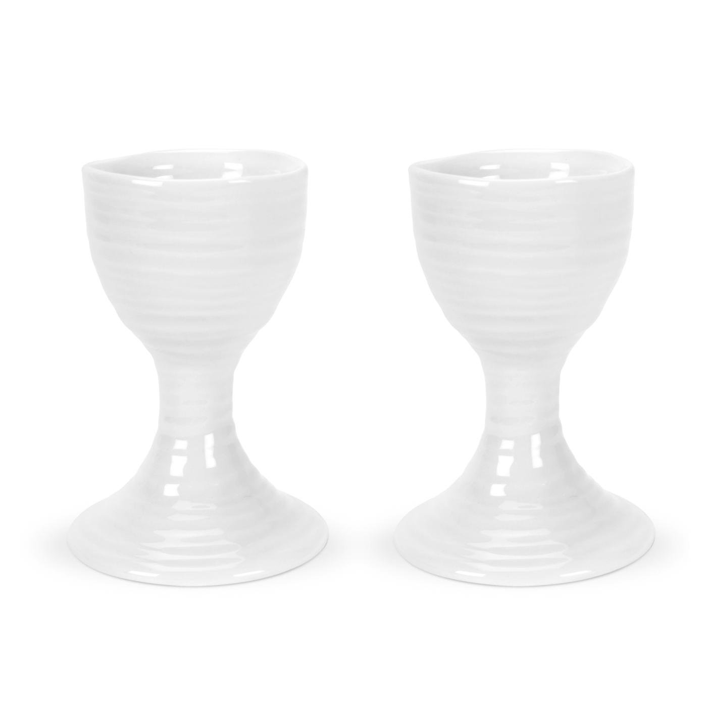 Portmeirion Sophie Conran White Egg Cup,Set of 2 Portmeirion USA 486997