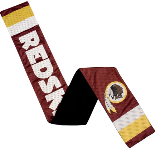 NFL Washington Redskins Jersey Scarf (Mens Mlb Accessories)