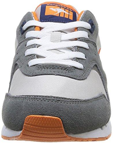 Kangoeroes Coil R2 Herren Sneaker Grau (mid Grijs / Lt Grijs 223)