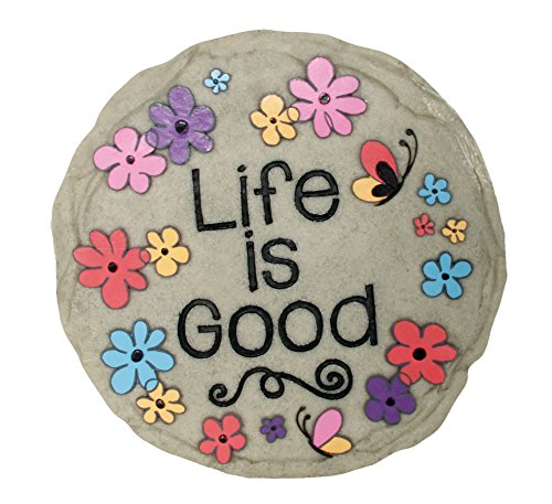 - Spoontiques Life is Good Stepping Stone