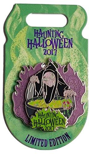 Disney Pin - Haunting Halloween 2017 Villains - Old Hag -