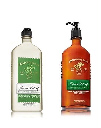 Amazoncom Bath Body Works Aromatherapy Stress Relief Body