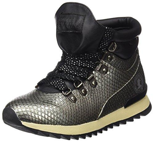 Coronel Tapioca Women's Botin Sport Serpe Plata Señora Ankle Boots Silver (Platinium 0) VlOmZ