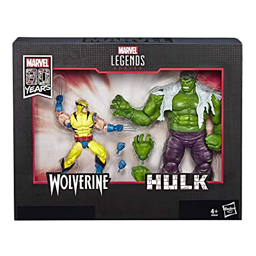 "Marvel Legends 6/"" Scale Figure Hulk 10 ans à partir de 2 pack complet Excellent"