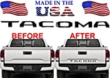 toyota tacoma decal emblems - 2016-2017 Toyota Tacoma Gloss Black ABS Tailgate Letter Inserts Letters