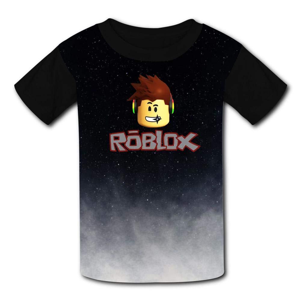 Moitao Legree Kids Short Sleeve Shirt Black, Rob-Lox Sports Absorb Sweat Tee Boys