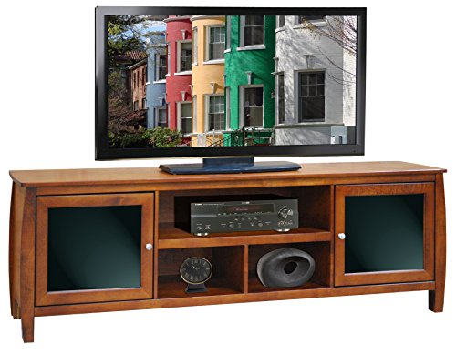 Curve TV Console Spiced Rum/76″ Console