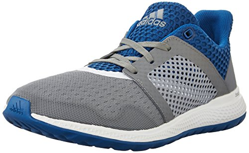adidas Performance Men's Energy Bounce 2.0 Running ShoeGrey/White/Equipment Blue8 M US