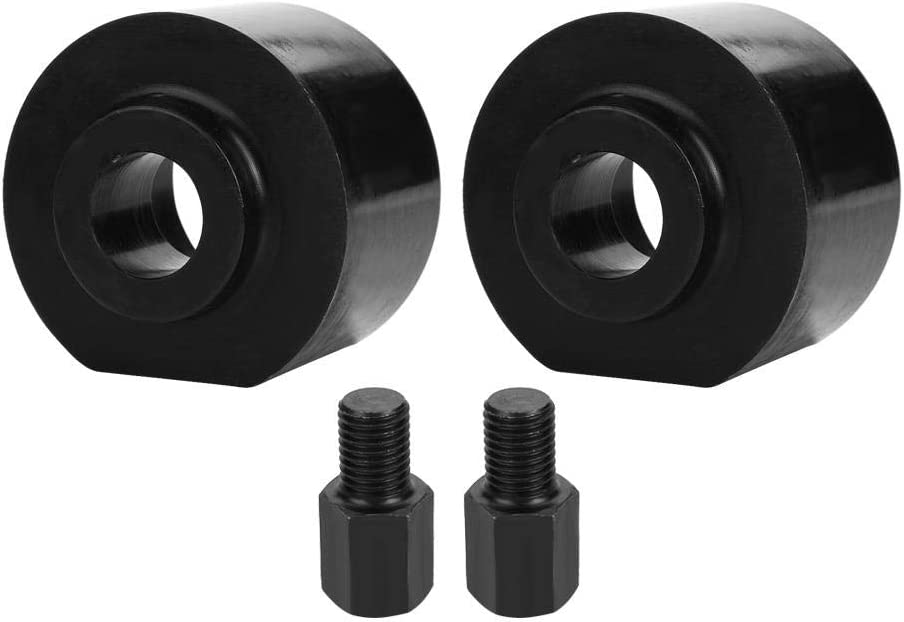 2.5inch Acouto Coil Spring Spacer,Steel Front Leveling Lift Kit W//Stud Extender for F250 F350 Super Duty 1999-2018